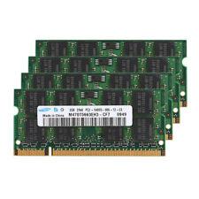 For Samsung DDR2 8GB 4X 2GB PC2-6400 800MHZ 200Pin Laptop SODIMM Original RAM US