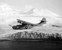 Consolidated PBY-5A Catalina over the Aleutians 8x10 World War II WW2 Photo 707