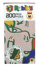 Rubiks 200 Piece Jigsaw Puzzle | Pop Art
