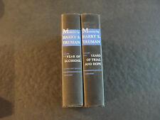 Memoirs by Harry S. Truman (HC, 2 Volumes, 1955, 1956)