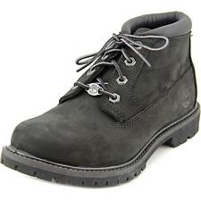 Timberland Nellie Chukka Double C23398 - Ladies Black Nubuck BOOTS Various Sizes 5 UK