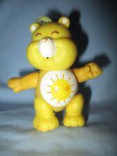 Vintage 1980's Kenner Care Bear Funshine Bear Poseable Figure
