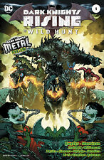 DARK KNIGHTS RISING THE WILD HUNT #1, FOIL COVER, New, First print, DC (2018)