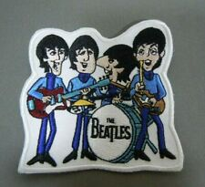 """The BEATLES Performing  - Cartoon TV Series - Embroidered Iron-On Patch - 3 """""""