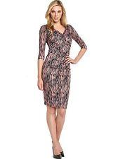 BNWT SAVOIR Confident Curves Secret Support Wrap Dress Size 14 Stretch