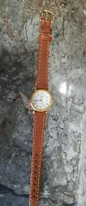 *REDUCED PRICE* RARE LONGINES PRESENCE LADIES GOLD PLATED WATCH FULLY SERVICED