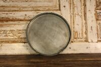 Distressed Metal Tray | Antique Large Rusty Tray | Farmhouse Kitchen Style