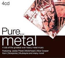 Pure... METAL 4 CD NEUF