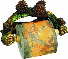 Pinecone / Forest  / Woods Toilet Paper Holder Rustic Country  NEW - Ships FREE