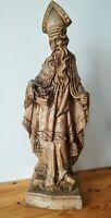Saint Homme en Bois sculpté 70 cm