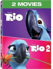 Rio 2-Movie Collection [New Dvd] 2 Pack