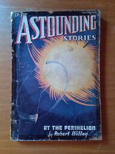 ASTOUNDING STORIES February 1937 ORIGINAL PULP Science Fiction Fantascienza