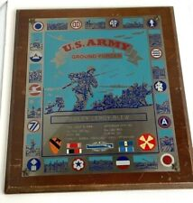 1948 Us Army Named Soldiers Plaque