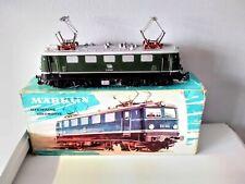 Vintage Marklin HO scale 3037 green electric metal locomotive boxed DB Germany