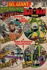 WORLD'S FINEST COMICS #161 SILVER AGE DC EIGHTY (80) PAGE GIANT G-28