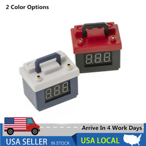 Simulation Battery Battery LiPo Low Voltage Alarm For 1/8 1/10 RC Car Decoration