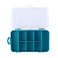 13 Grids Plastic Double-Side Transparent Screw Components Storage Case Tool Box