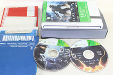 Halo 4: Limited Edition (Microsoft Xbox 360, 2012) steelbox and various inserts