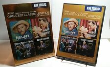 TCM Greatest Classic Legends Film Collection:Kirk Douglas Drama(DVD,2012,4-Discs