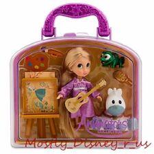 NEW Disney Store Animators' Tangled Rapunzel Pascal Figure Playset Play Set