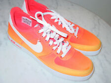 "2014 Nike Air Force One AC BR QS ""Gradient Pack"" Atomic Mango Shoes! Size 9.5"
