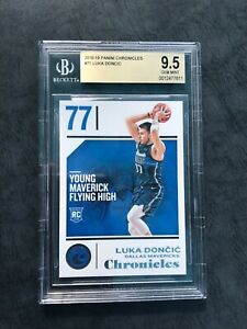🔥 2018-19 Chronicles No. 71 Luka Doncic Rookie BGS 9.5 GEM MINT, RC 🔥