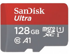 SanDisk Ultra 128GB 100 MB/S Class 10 A1 Micro SDHC memory card with adapter