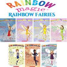 Rainbow Magic Ruby the Red Fairy +1-7 by Daisy Meadows (2005, 7 Paperback Set)