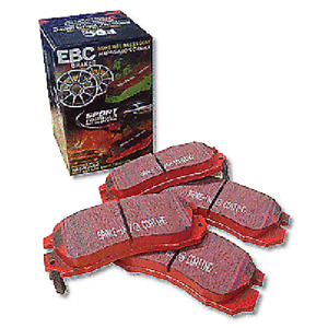 PORSCHE BOXSTER 2.9 2009-PRESENT EBC REDSTUFF FRONT BRAKE PADS DP31207C