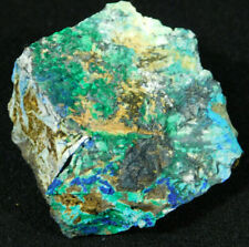 A Nice and 100% Natural BLUE Azurite and Chrysocolla Cluster! From Peru 160gr