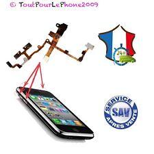 NAPPE PRISE JACK AUDIO COMPLETE POUR IPHONE 3GS NOIRE