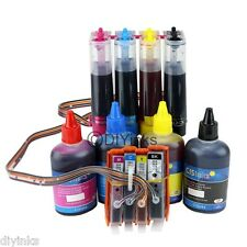 CISS & Extra Ink Set For 564/564XL HP Photosmart 6520 6515 6512 6510 5515 5510