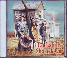 V.A. - ROCKABILLY SHAKEDOWN- Buffalo Bop 55070 50s Rock