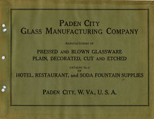 Paden City Glass Company ca. 1934 catalog reprint