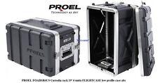 PROEL FOABSR6US Custodia rack 19' 6 unità FLIGHTCASE low profile case abs