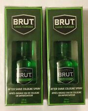 Lot of 2 Brut Classic After Shave Cologne Spray 3 oz each