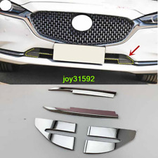 Stainless Steel Front Lower Grille Trim 4PCS For Mazda 6 Atenza 2019 2020