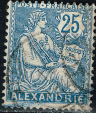 France Office in Alexandria Egypt 1900 classic stamp