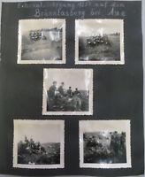 Albumseite 5 Orig. Fotos Externatslehrgang Aue Sachsen / Soldaten Polizei DDR
