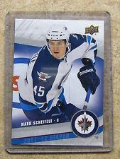 11-12 UD Jets Return To Winnipeg MARK SCHEIFELE #8 SP Rookie RC
