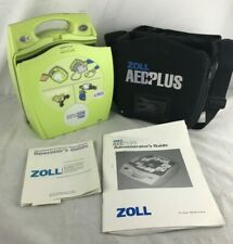 New listing Zoll Aed Defibrillator Plus W/ Cpr-D Pads and Zoll Oem Batteries