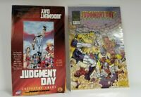 Judgment Day Trading Card 48 Pack Box with Judgment Day Comic Book LOT