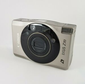 CANON IXUS Z70 VINTAGE FILM CAMERA - BATTERY TESTED