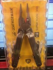 Leatherman 19x Super tool 300 Pocket Multi-Tool & Sheath 8301103 300 NEW Wave