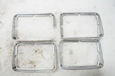1979 - 1981 FIREBIRD TRANS AM HEADLIGHT BEZEL TRIM RING SET CHROME FORMULA