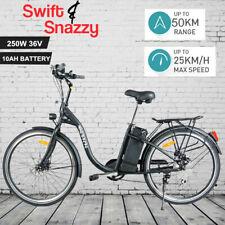 BLACK 26 INCH LEGAL ELECTRIC BIKE EBIKE BATTERY BICYCLE E-CYCLING 36V 250W
