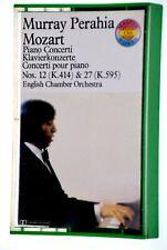 MURRAY PERAHIA MOZART Piano Concerto Rare Classical Cassette Tape Album