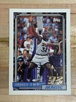 1992-93 TOPPS SHAQUILLE O'NEAL RC ROOKIE 92' DRAFT PICK #362 🔥 🔥 PSA Potential