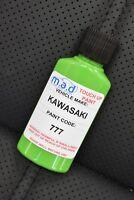 KAWASAKI 777 PAINT TOUCH UP KIT 30ML LIME GREEN MOTORBIKE BIKE