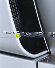 RENAULT CLIO V6 Mittelmotor Breitversion Sport Prospekt Sales Brochure 2000 /73